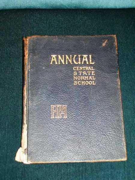 Image for Central State Normal School Annual (Yearbook)