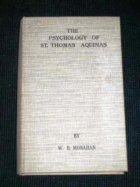 Image for Psychology of St. Thomas Aquinas, The