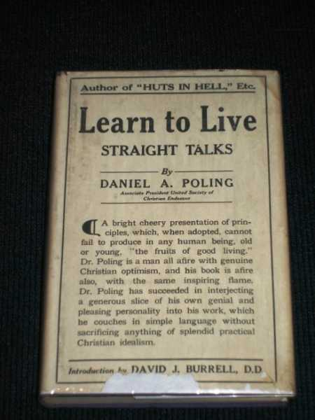 Image for Learn to Live:  Straight Talks