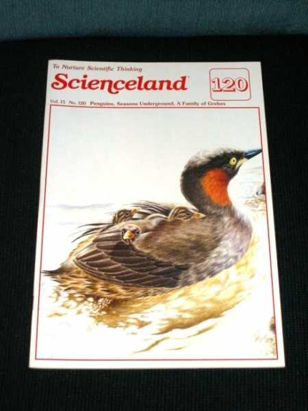Image for Scienceland Vol 15 No 120 - Penguins, Seasons Underground, A Family of Grebes  (Deluxe Edition)