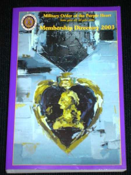 Image for Military Order of the Purple Heart Membership Directory - 2003