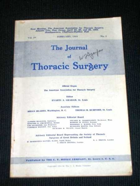 Image for Journal of Thoracic Surgery, The (Vol. 29 - February, 1955)