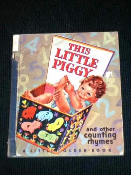 Image for This Little Piggy and Other Counting Rhymes (Little Golden Book 12)