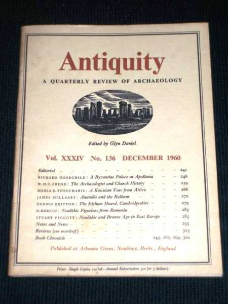 Image for Antiquity - A Quarterly Review of Archaeology - December 1960