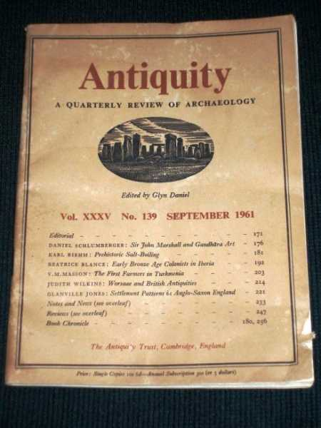Image for Antiquity - A Quarterly Review of Archaeology - September 1961