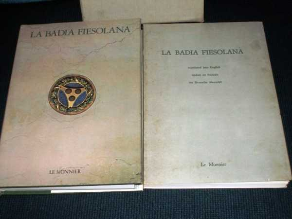 Image for La Badia Fiesolana (2 Volume set)