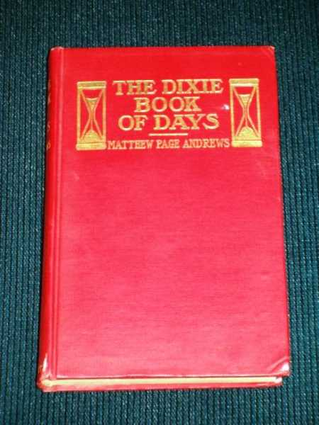 Image for Dixie Book of Days, The