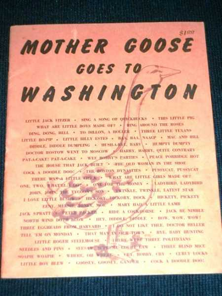 Image for Mother Goose Goes to Washington