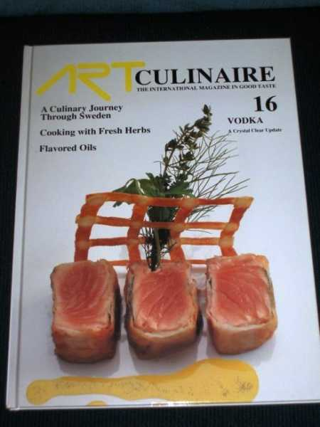 Image for Art Culinaire 16 - The International Magazine in Good Taste - Spring, 1990
