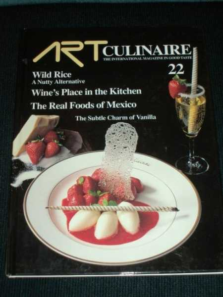 Image for Art Culinaire 22 - The International Magazine in Good Taste - Fall, 1991