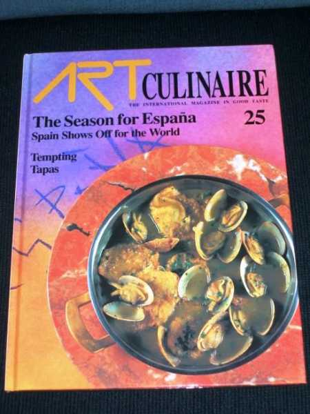 Image for Art Culinaire 25 - The International Magazine in Good Taste - Summer, 1992