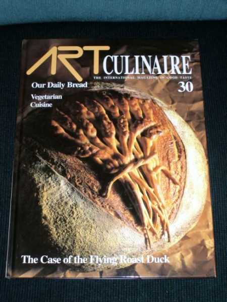 Image for Art Culinaire 30 - The International Magazine in Good Taste - Fall, 1993