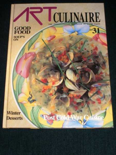 Image for Art Culinaire 31 - The International Magazine in Good Taste - Winter, 1993