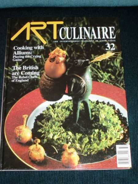 Image for Art Culinaire 32 - The International Magazine in Good Taste - Spring, 1994