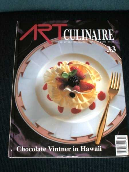Image for Art Culinaire 33 - The International Magazine in Good Taste - Summer, 1994