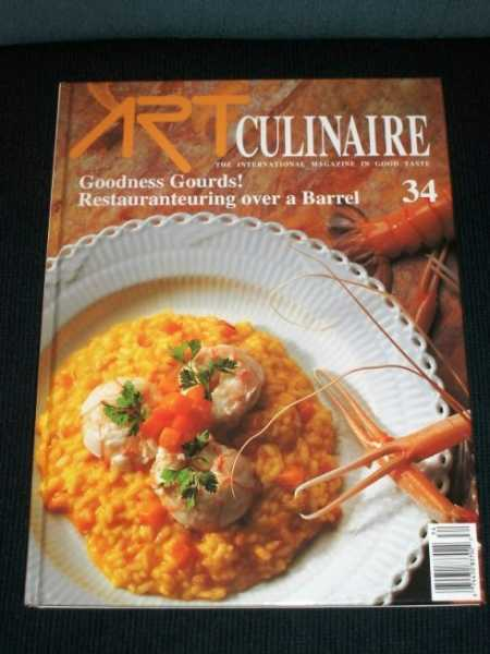 Image for Art Culinaire 34 - The International Magazine in Good Taste - Fall, 1994