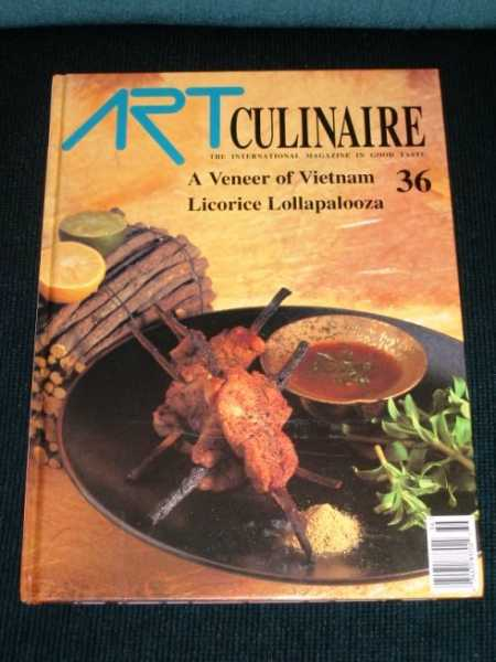 Image for Art Culinaire 36 - The International Magazine in Good Taste - Spring, 1995