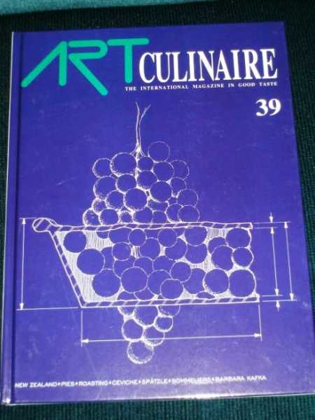 Image for Art Culinaire 39 - The International Magazine in Good Taste - Winter, 1995