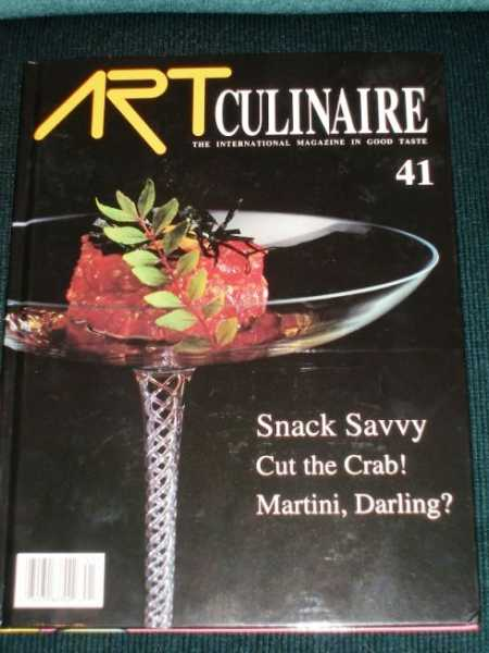Image for Art Culinaire 41 - The International Magazine in Good Taste - Summer, 1996