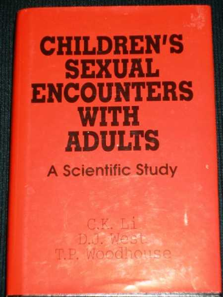 Image for Children's Sexual Encounters With Adults: A Scientific Study