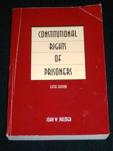 Image for Constitutional Rights of Prisoners