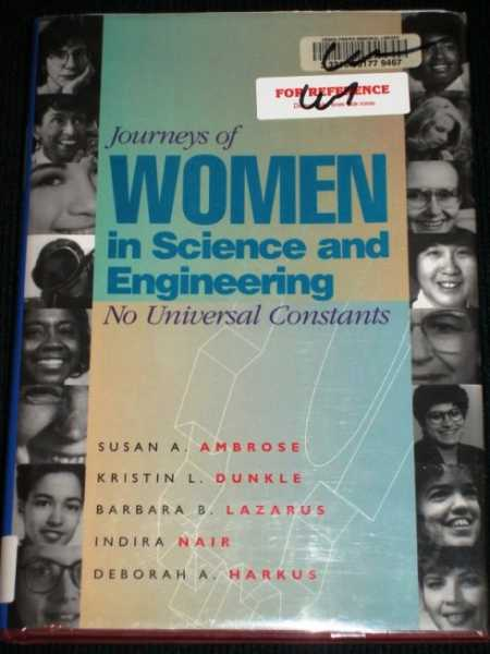 Image for Journeys of Women in Science and Engineering:  No Universal Constants