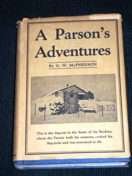 Image for Parson's Adventures, A