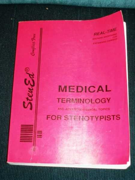 Image for Medical Terminology and Advanced Medical Topics for Stenotypists