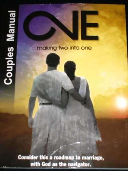 Image for One:  Making Two Into One (Couples Manual)