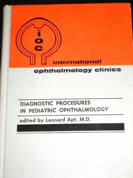 Image for Diagnostic Procedures in Pediatric Ophthalmology