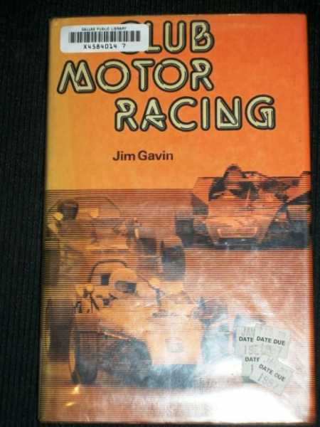 Image for Club motor racing