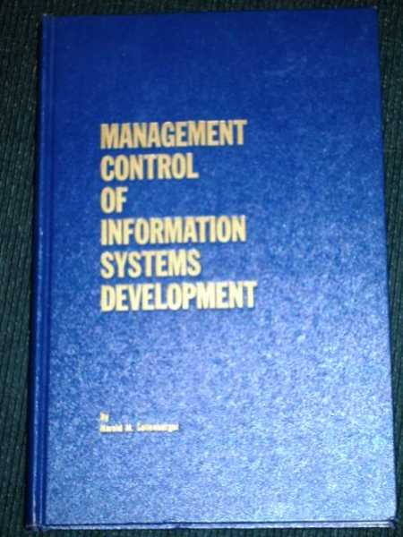 Image for Management Control of Information Systems Development