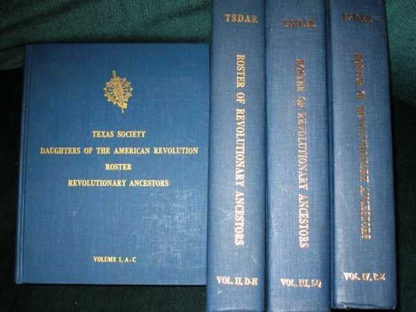 Image for Roster of Texas Daughters Revolutionary Ancestors, The (4-volume Set - Bicentennial Edition)