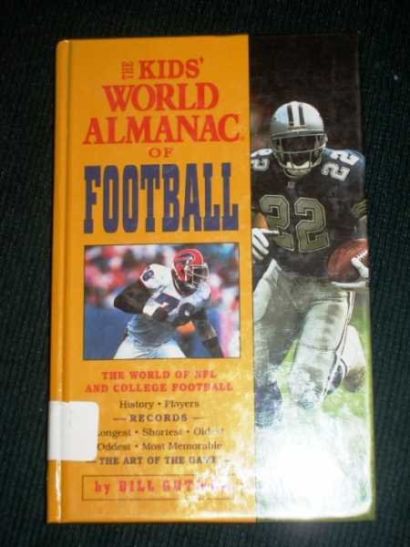 Image for Kids' World Almanac of Football, The