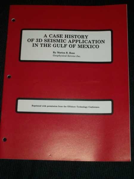 Image for Case History of 3D Seismic Application in the Gulf of Mexico, A