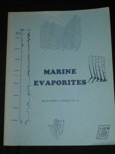 Image for Marine Evaporites: Lecture Notes for Short Course No. 4