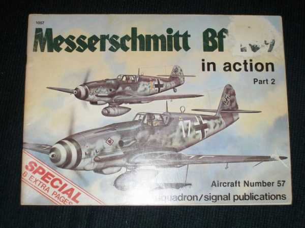 Image for Messerschmitt BF 109 in action (Part 2) - Aircraft No. 57