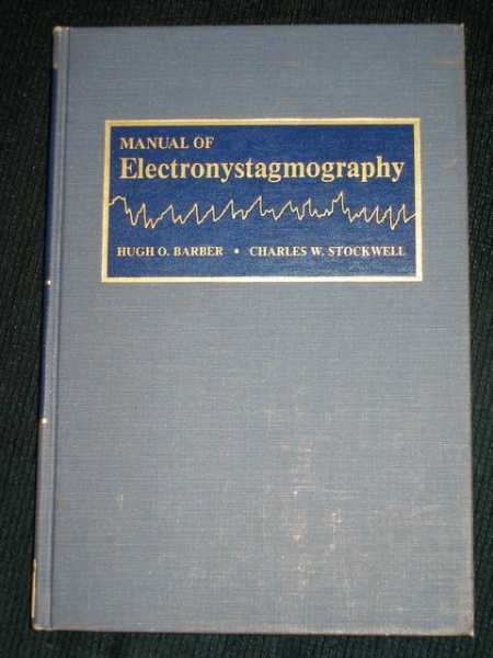 Image for Manual of Electronystagmography