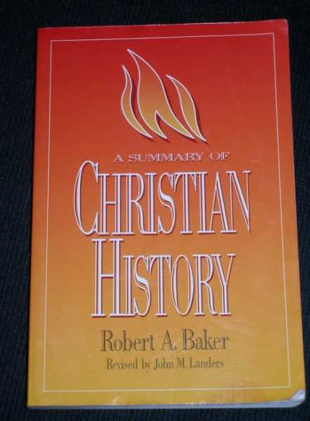 Image for Summary of Christian History, A