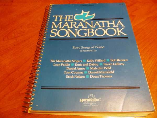 Image for Maranatha Songbook, The:  Sixty Songs of Praise