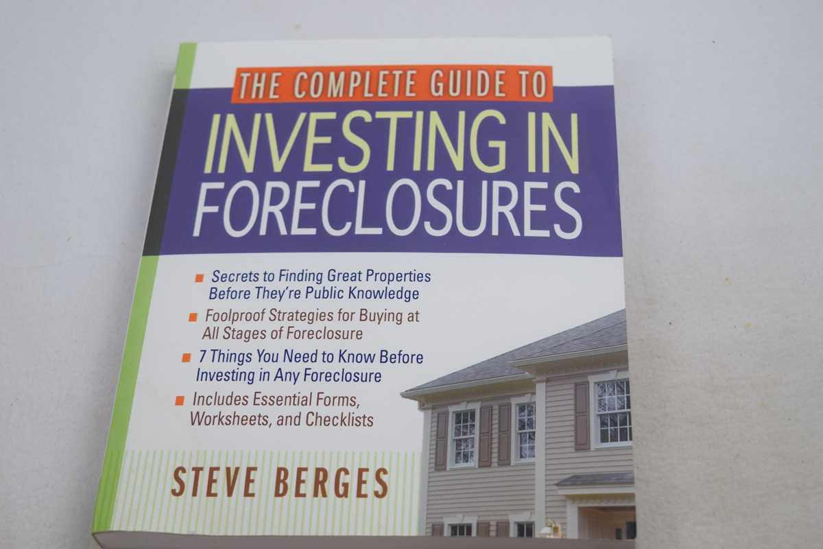 Image for Complete Guide to Investing in Foreclosures, The