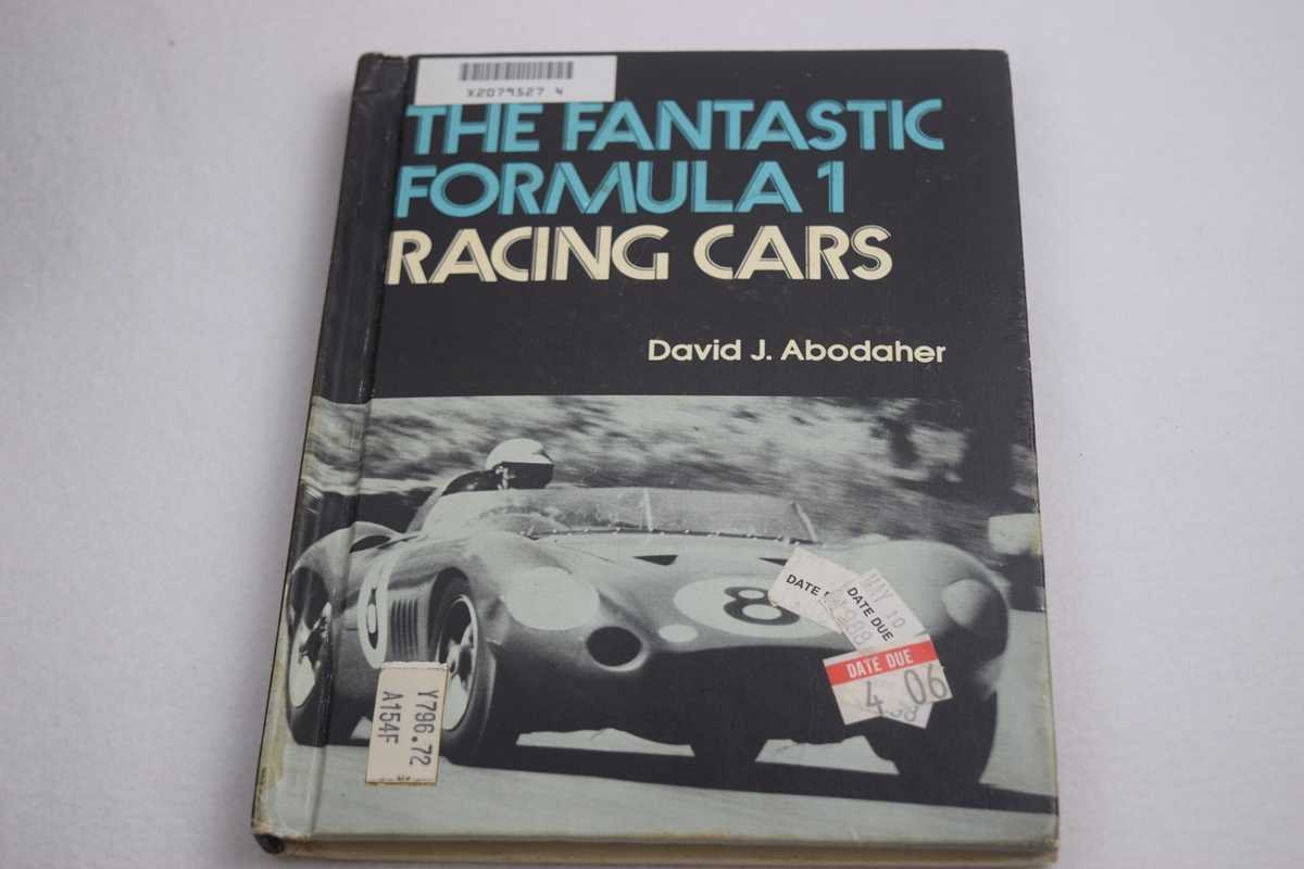 Image for The Fantastic Formula 1 Racing Cars