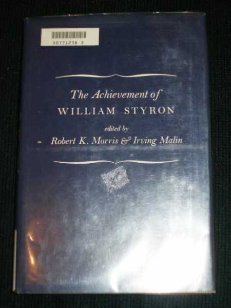 Image for Achievement of William Styron, The