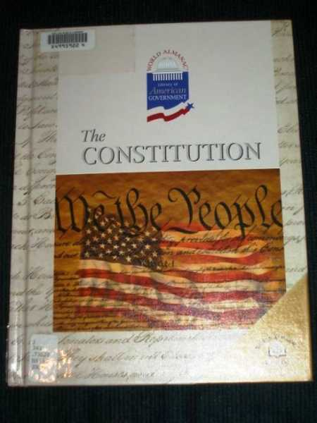 Image for The Constitution (World Library Almanac of American Government)