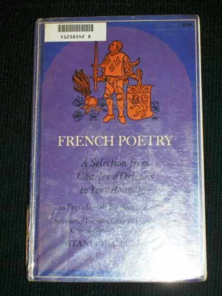 Image for French poetry, a selection from Charles D'Orléans to Yves Bonnefoy, in French with English translations