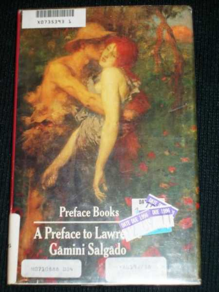 Image for Preface to Lawrence, A