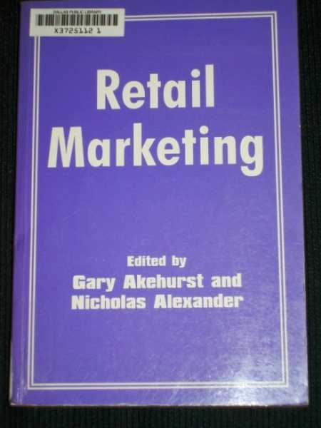 Image for Retail marketing
