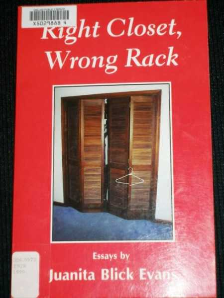 Image for Right Closet, Wrong Rack
