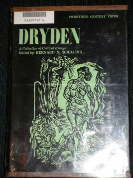 Image for Dryden:  A Collection of Critical Essays