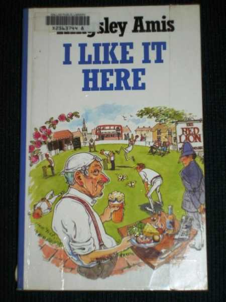Image for I Like It Here (Large Print Edition)